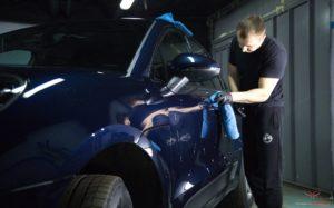 Защита автомобиля керамикой