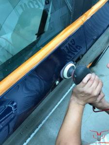Полировка деталей автомобиля