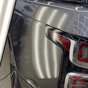 Отремонтированное крыло Range Rover