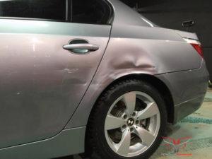 Ремонт крыла без покраски BMW e60