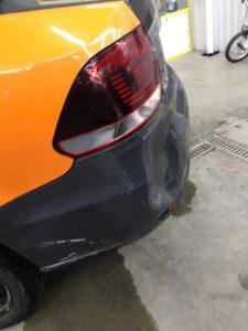 Ремонт бампера без покраски