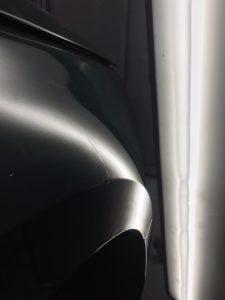 Ремонт вмятины на Audi A4 после фото