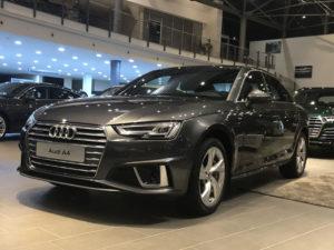 Вмятина на крыле Audi A4 фото