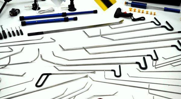 Крючки для удаления вмятин без покраски на авто